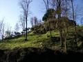 Paderno d'Addarudere castello tratto che aggira le rapide