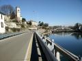 Vaprio d\'Adda dirzione Lecco - a sinistra naviglio martesana a destra fiume Adda