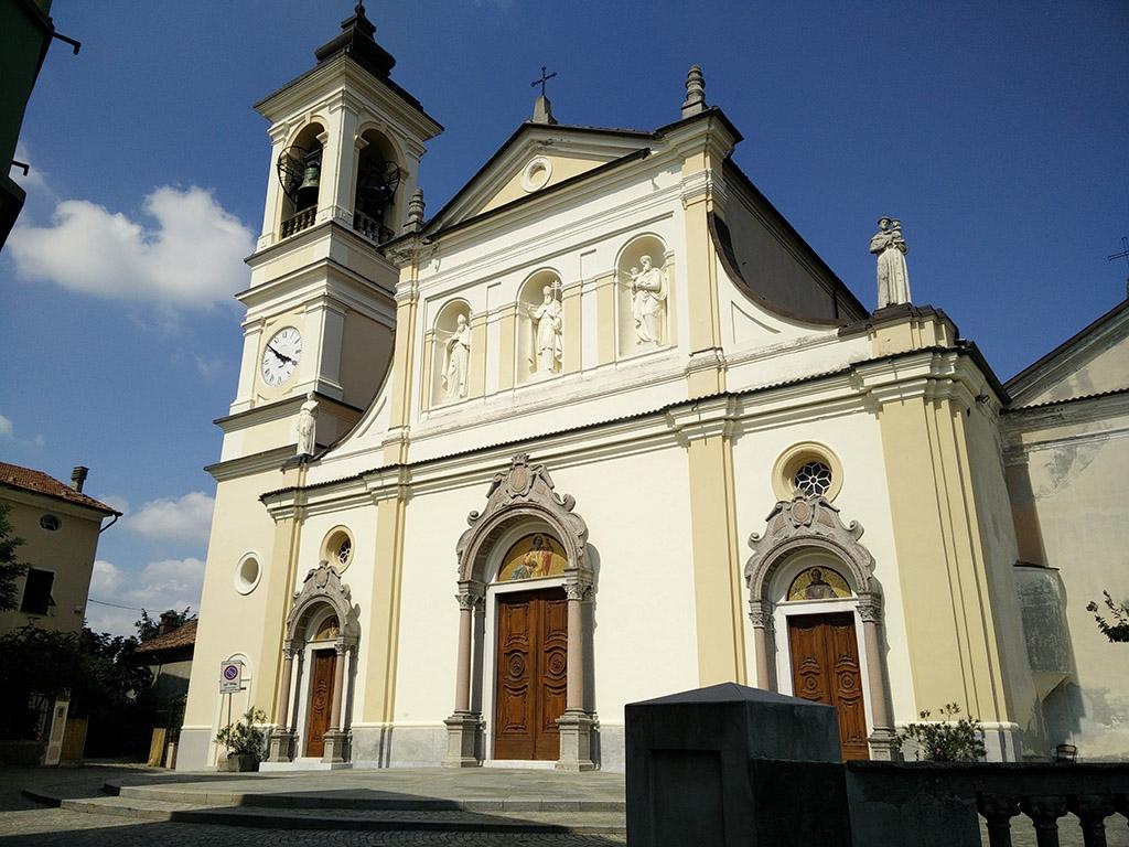 Mornese - La chiesa parrocchiale
