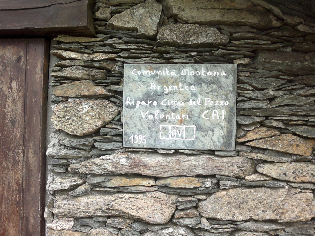 Monte Argentea - riparo cima del pozzo